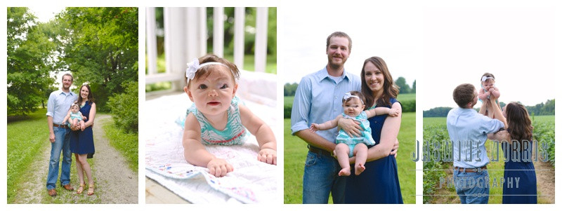 Middletown, Indiana Family Session: Vosburgh Family