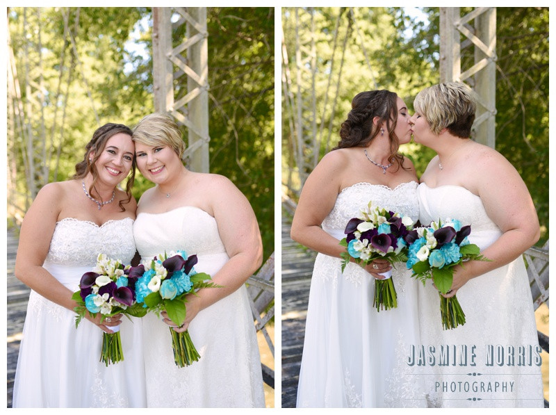Outdoor Roann Indiana Same Sex Wedding Photographer Photography
