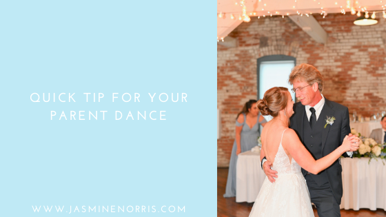 Quick Tip For Your Parent Dance Indiana Weddin