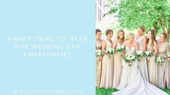 Handy Items To Have For Wedding Day Emergencies