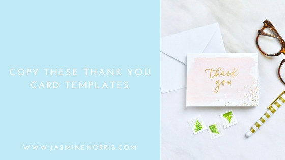 Copy These Wedding Thank You Note Templates: Wedding Wednesday