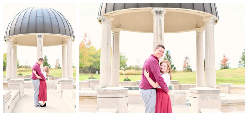 Coxhall Gardens Carmel Indiana Anniversary Engagement Photographer Photography