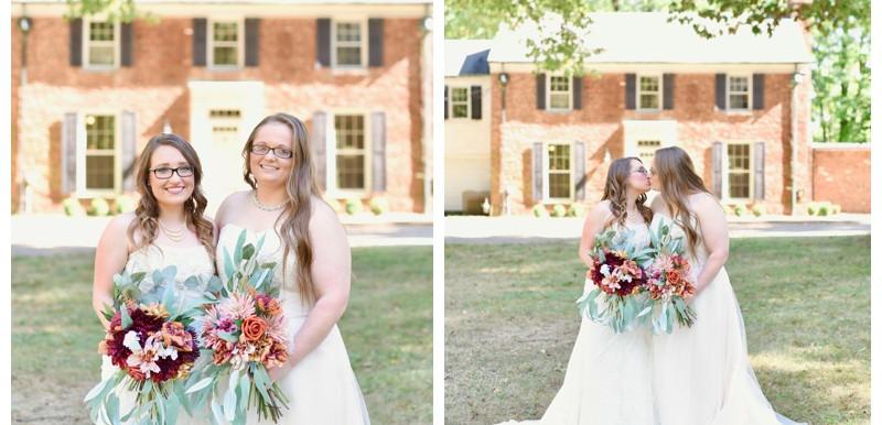 PUBLISHED: EveryBride- Ashley & Samanthia's Midwest Wedding