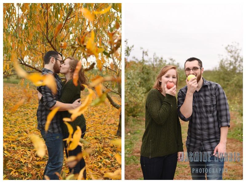 Wea Creek Orchard Lafayette Indiana Engagement Photographer Photography