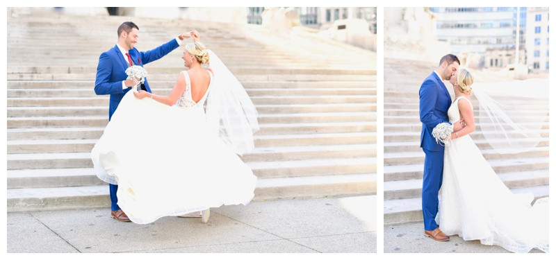 Downtown Indianapolis Indiana Engagement Photographer Photography