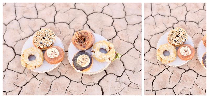Donut Cake Inspiration Las Vegas Wedding Photographer