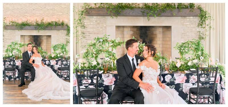 Carmel Indiana Iron and Ember Wedding Photographer Photography