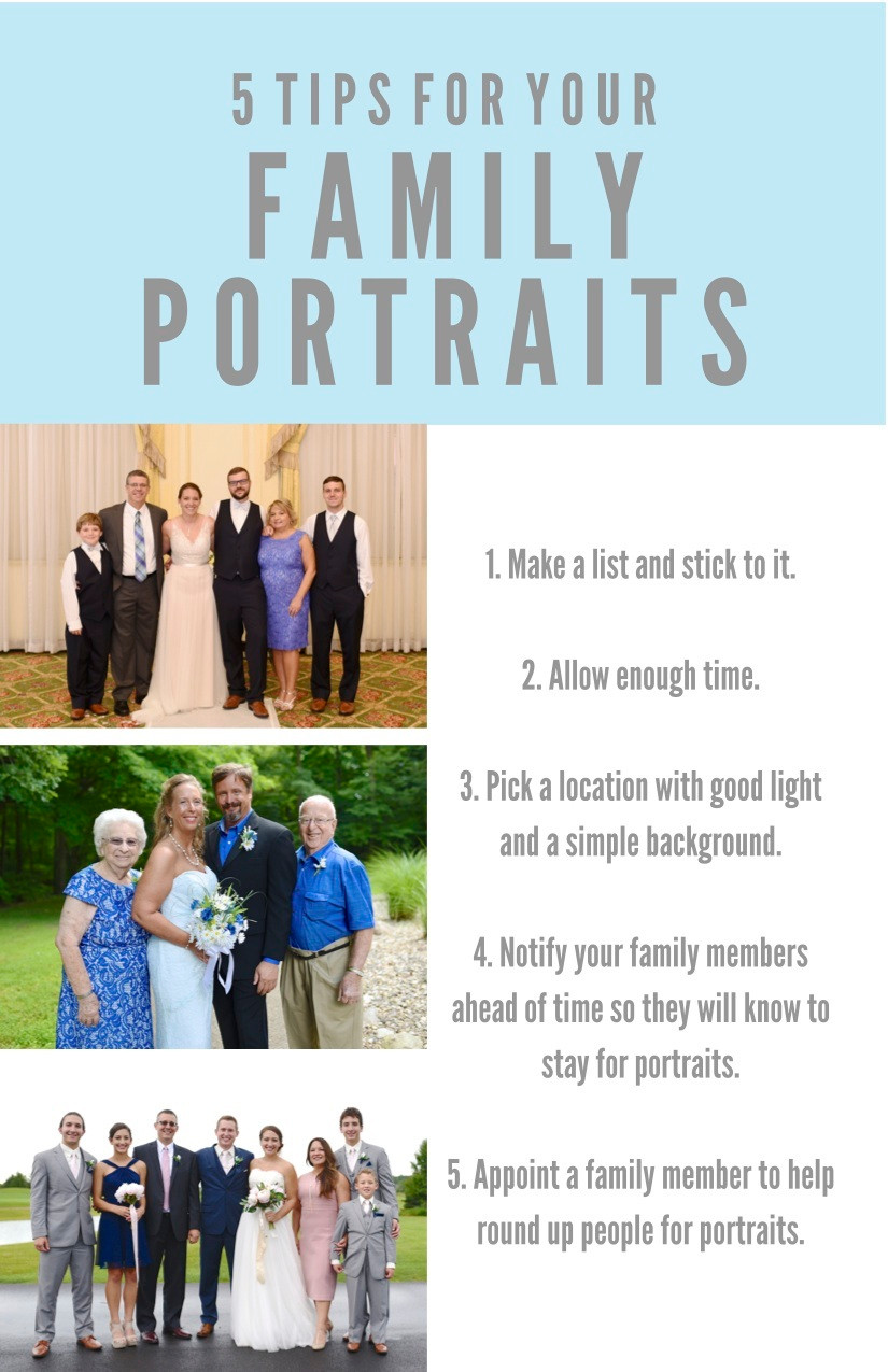 5 Tips for Your Family Portraits Indiana Wedding Photographer Photography