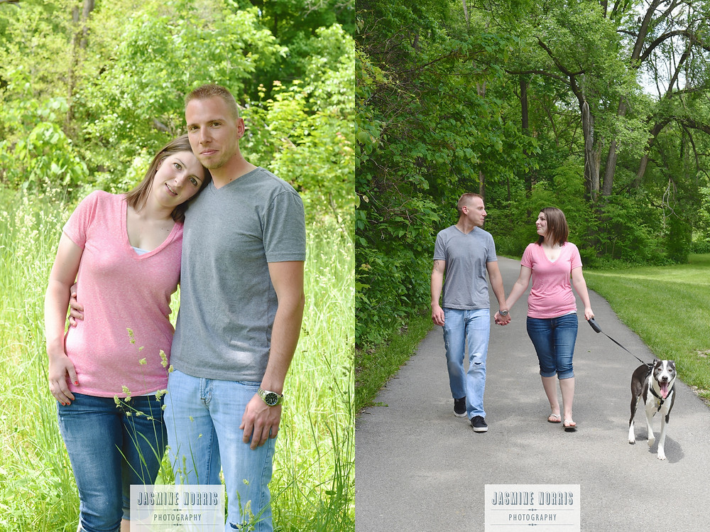 Lafayette Indiana Engagement Photography Photographer