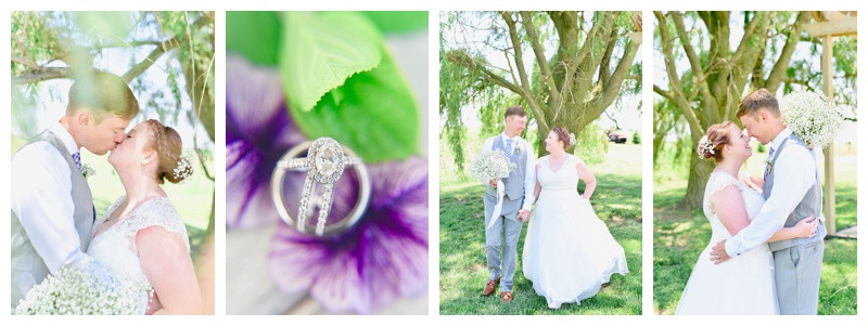 Willow Creek Barn Frankfort Indiana Wedding: Elizabeth & Doug