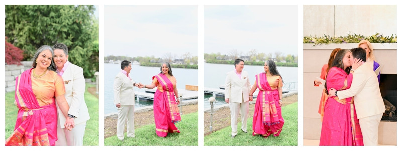 Indianapolis Mansion and Waterfront Wedding: Miko & Colleen
