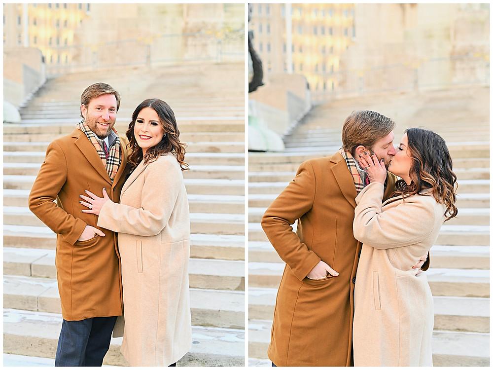 Indianapolis Indiana Monument Circle Wedding Photographer Photography