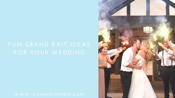 Fun Grand Exit Ideas For Your Wedding Indiana Photographer Photography