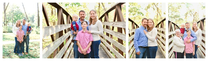 Ellis Park Danville Indiana Family Session: Hershberger Family