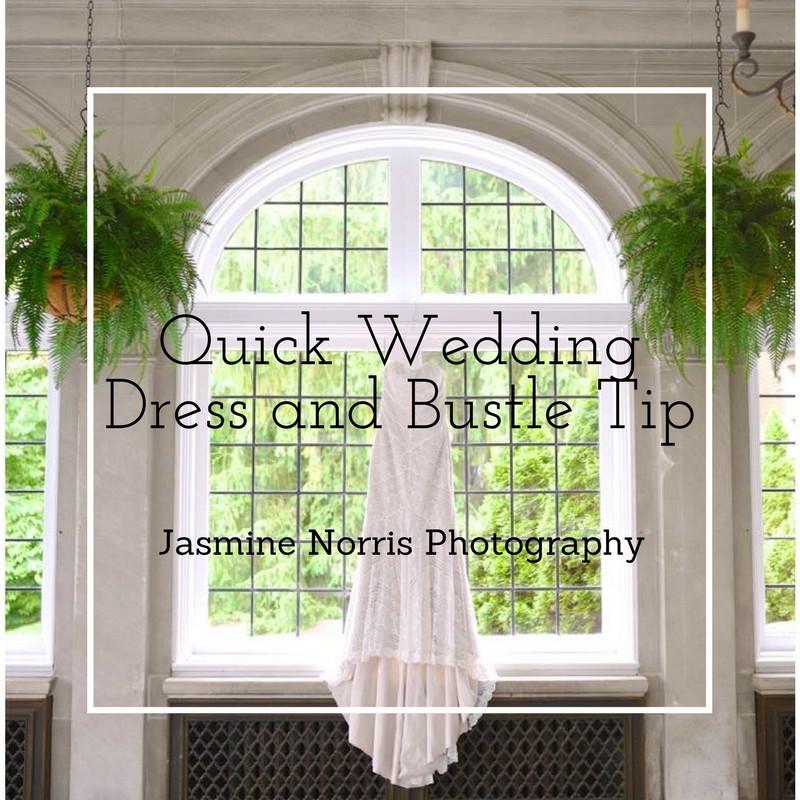 Wedding Dress and Bustle Tip Indiana Wedding Photographer Photography Lafayette Indianapolis