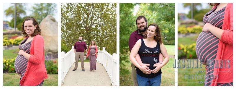 Columbia Park Lafayette, Indiana Maternity Session: Jennifer & Alex