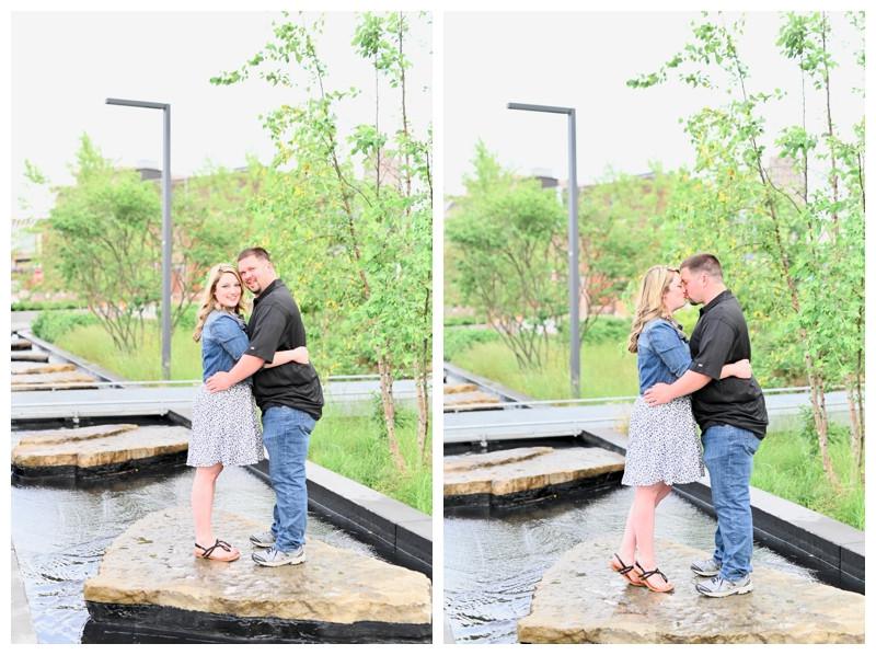 Fort Wayne Indiana Engagement Promenade Park Photographer Photography