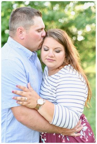 Remington Indiana Engagement Photographe