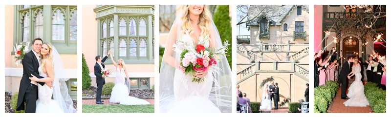Fowler House Wedding Lafayette Indiana: Laura & Ben