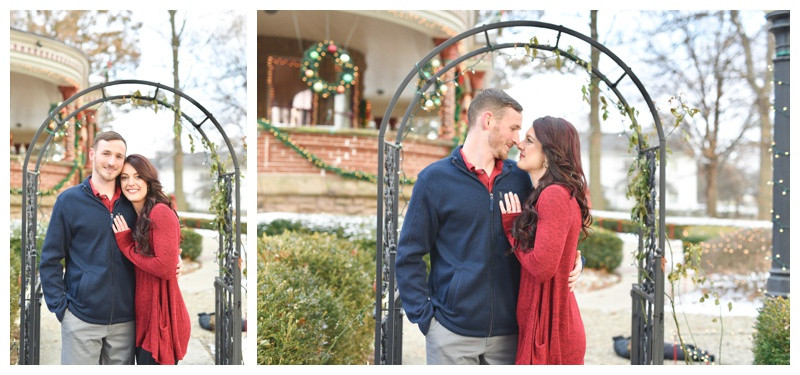 Seiberling Mansion Kokomo Indiana Engagement Photographer Photography Lafayette Indianapolis