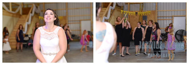 Crawfordsville Indiana Outdoor Barn Wedding Photographer Photography
