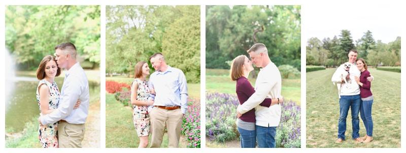Holcomb Gardens Indianapolis Indiana Engagement: Molly & Joe