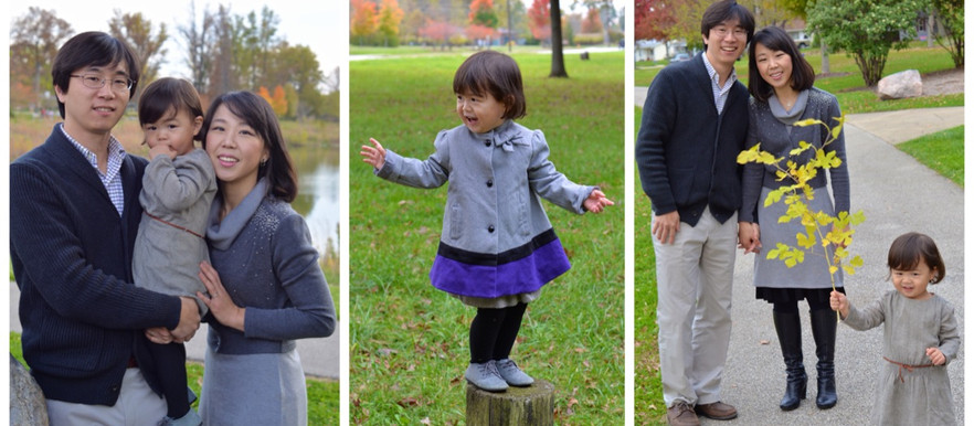 Song/Choi Fall Family Portraits