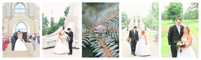 St Mary's and Lafayette Country Club Wedding Lafayette, Indiana: Lauren & Kyle