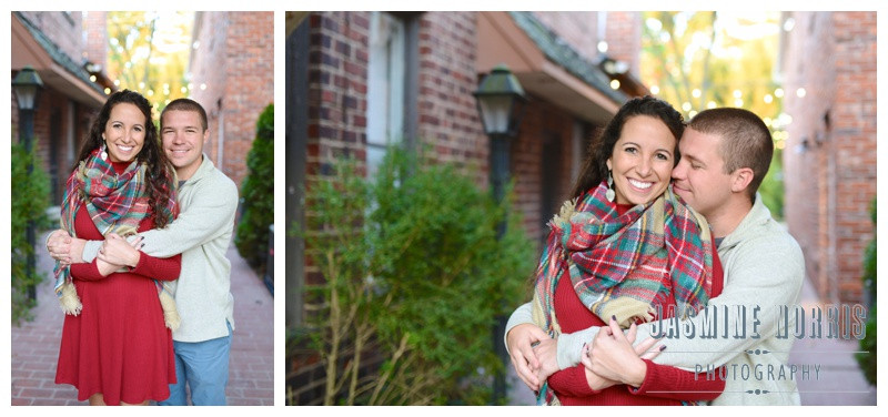 Downtown Zionsville Indiana Engagement Photographer Photography