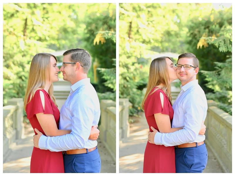 Newfields Indianapolis Indiana Engagement Photographer Photography