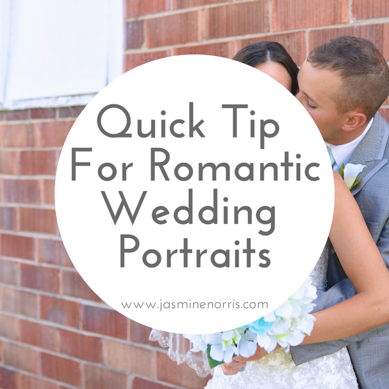 Quick Tip For Romantic Wedding Portraits Indiana Wedding Photographer Photography