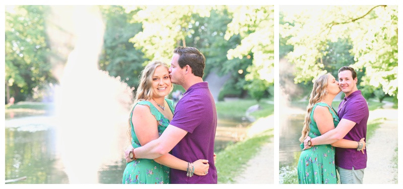 Holcomb Gardens Indianapolis Indiana Engagement Photographer Photography Butler University
