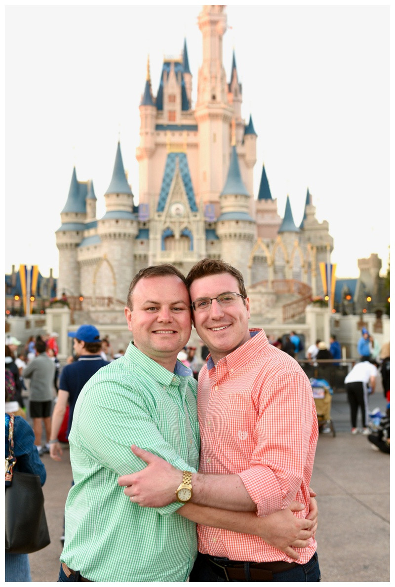 Orlando Florida Walt Disney World Magic Kingdom Epcot Engagement Photographer Photography Destination Indiana Lafayette Indianapolis