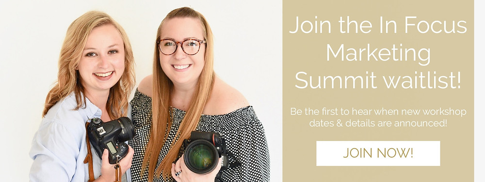 In Focus Marketing Summit, A Marketing Workshop For Photographers