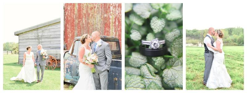 South Bend Indiana Farm Wedding: Misty & Jon