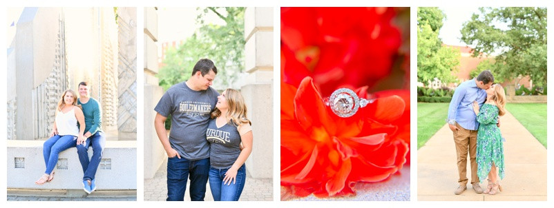Purdue University Engagement West Lafayette Indiana: Lauren & Kyle