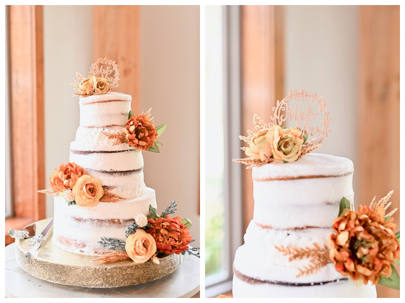 Rustic Wedding Cake Inspiration Stone Creek Lodge Crawfordsville Indiana Wedding Photographer