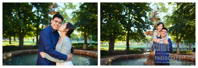 Purdue University West Lafayette Indiana Engagement Photographer Photography