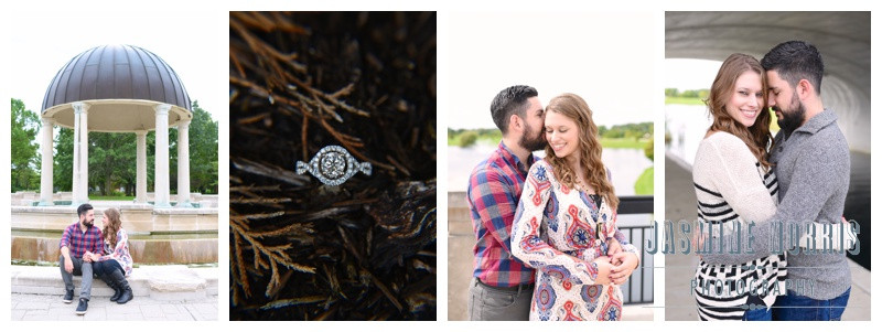 Coxhall Gardens Carmel Indiana Fall Engagement Photographer Photography