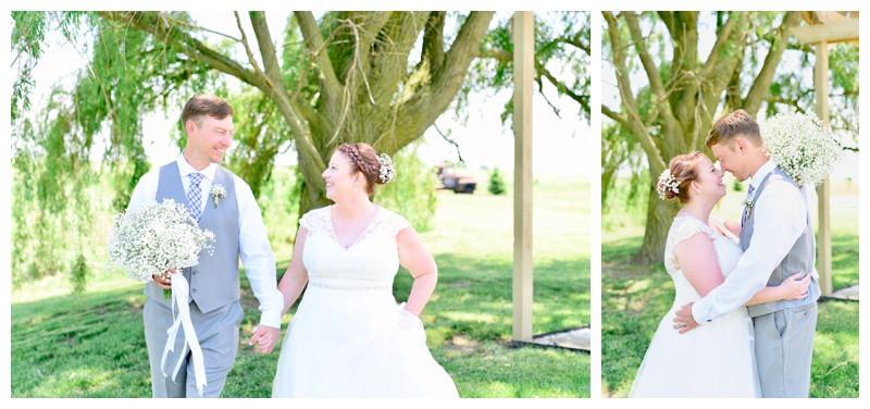 Frankfort Indiana Willow Creek Barn Wedding Photographer Photography