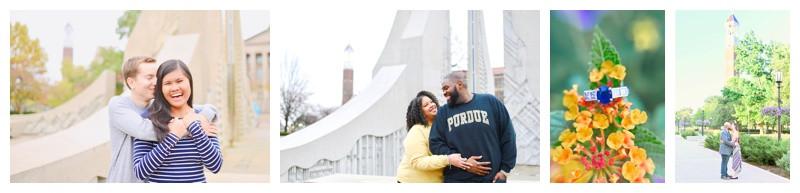 Purdue University Engagement Photographer Photography