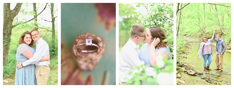 English Indiana Farm Engagement: Lexi & Mitchell