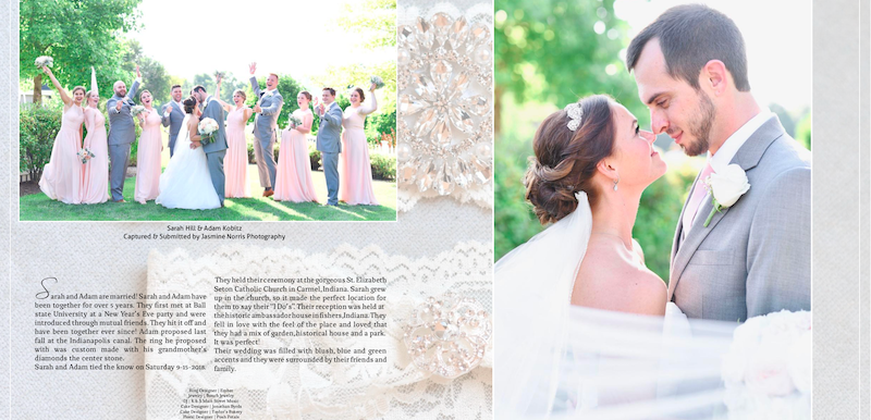 PUBLISHED: Embrace Beauty Magazine Love Stories February 2019 Issue- Sarah & Adam