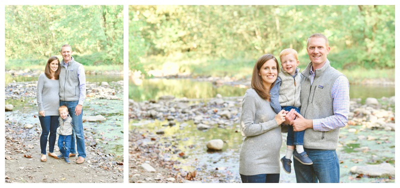 Creekside Nature Park Zionsville Indiana Family Photographer Photography