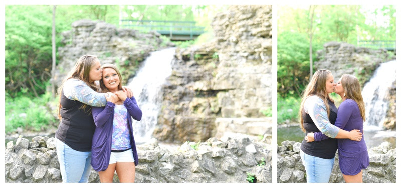France Park Logansport Indiana Engagement Photographer Photography Lafayette Indianapolis Same Sex
