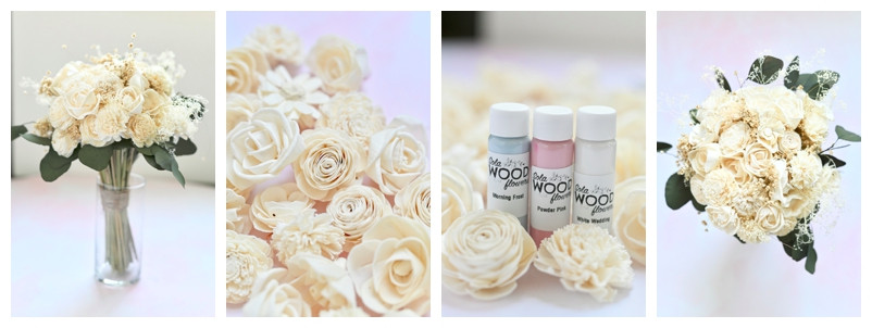 Sola Wood Flowers Bouquet Review: Wedding Wednesday
