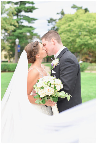 Notre Dame South Bend Indiana Wedding