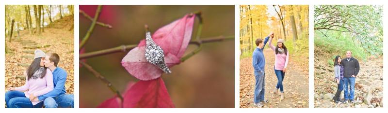 Happy Hollow Park Lafayette Indiana Engagement Photographer Photography