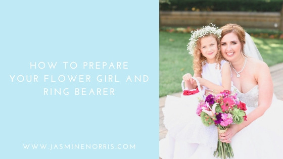 How To Prepare Your Flower Girl and Ring Bearer Indiana Wedding Photographer