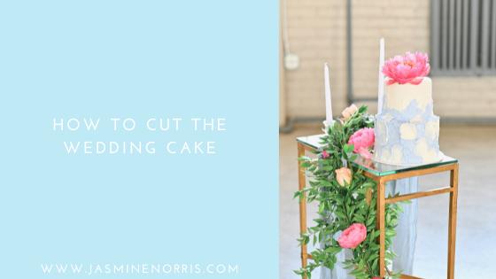 How To Cut The Wedding Cake: Wedding Wednesday